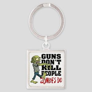 KILL PEOPLE Square Keychain