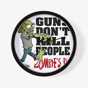 KILL PEOPLE Wall Clock