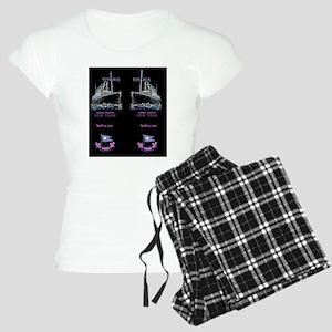 NeonBlackFlipFlops-e Women's Light Pajamas