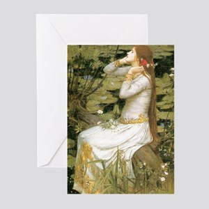 Ophelia Greeting Cards