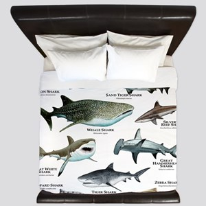 Sharks of the World King Duvet