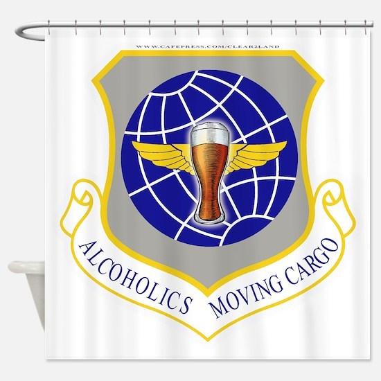 Air force sac Shower Curtain