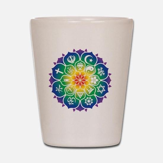 Religions_Mandala_CeramicTravelMug Shot Glass