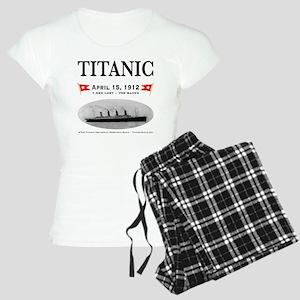TG2 Ghost Boat 12x12-b Women's Light Pajamas