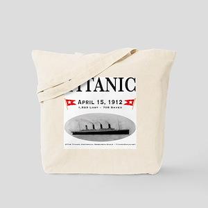 TG2 Ghost Boat 12x12-b Tote Bag