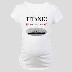 TG2 Ghost Boat 12x12-b Maternity T-Shirt