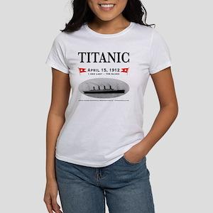 TG2 Ghost Boat 12x12-b Women's T-Shirt