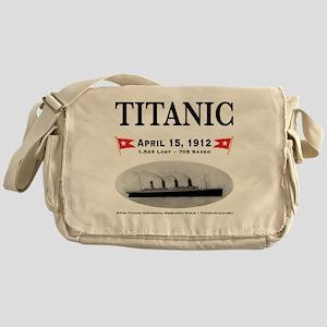 TG2 Ghost Boat 12x12-b Messenger Bag
