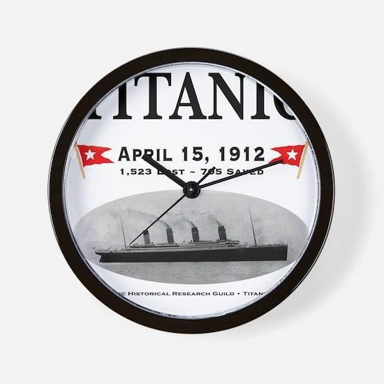 TG2 Ghost Boat 12x12-b Wall Clock