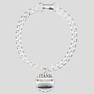 TG2 Ghost Boat 12x12-b Charm Bracelet, One Charm