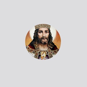 Christtheking Mini Button