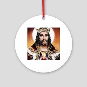 Christtheking Round Ornament