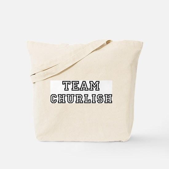 Team CHURLISH Tote Bag