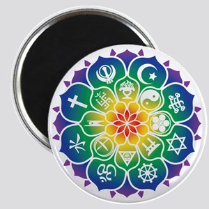 Religions_Mandala_10x10_apparel Magnet