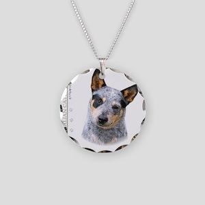 portrait9 Necklace Circle Charm