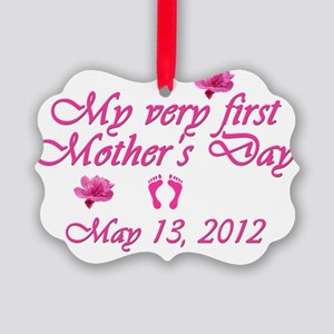 mothers day first2012 pink Picture Ornament