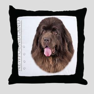 portrait13a Throw Pillow