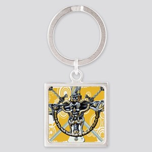 TheHell Guardian02 12x12 Square Keychain