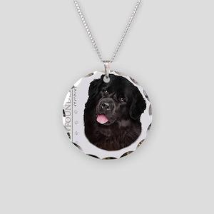 portrait14 Necklace Circle Charm