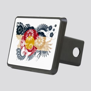 Colorado textured flower Rectangular Hitch Cover