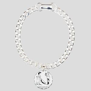 4873_cleaning_cartoon Charm Bracelet, One Charm