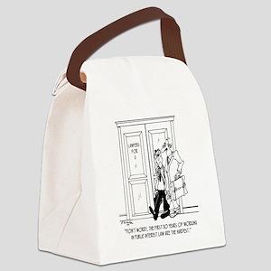 7263_public_interest_toon Canvas Lunch Bag