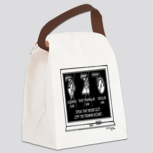 2142_tool_cartoon Canvas Lunch Bag