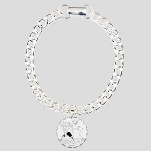 6437_carpenter_cartoon Charm Bracelet, One Charm