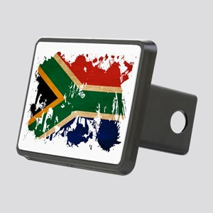 South Africa textured spla Rectangular Hitch Cover