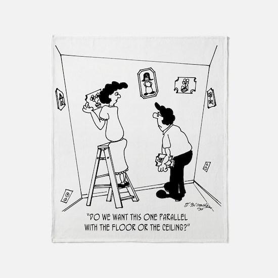 4261_painting_cartoon Throw Blanket