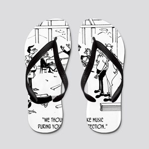 6368_inspection_cartoon Flip Flops