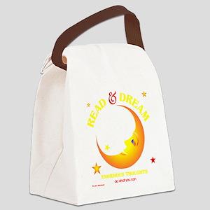 readdream33dark Canvas Lunch Bag