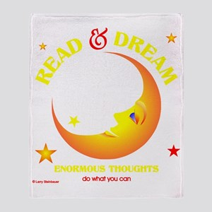 readdream33dark Throw Blanket