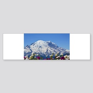 Mt Rainier Bumper Sticker