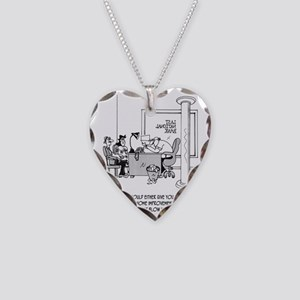 6110_loan_cartoon Necklace Heart Charm