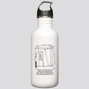 6162_construction_cart Stainless Water Bottle 1.0L