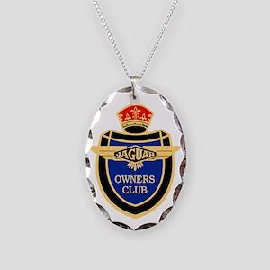 JOC logo Color Necklace Oval Charm