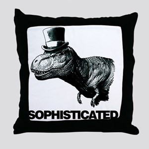 Trex_sophisticated copy Throw Pillow