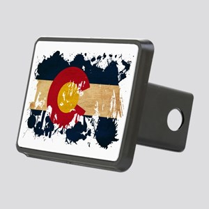 Colorado textured splatter Rectangular Hitch Cover