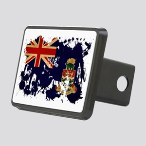 Cayman Islands textured sp Rectangular Hitch Cover