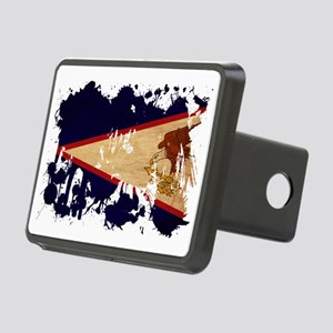 American Samoa textured sp Rectangular Hitch Cover