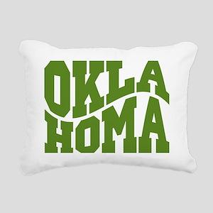 Oklahoma Rectangular Canvas Pillow