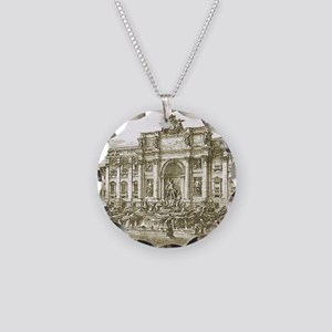Trevi7100 Necklace Circle Charm