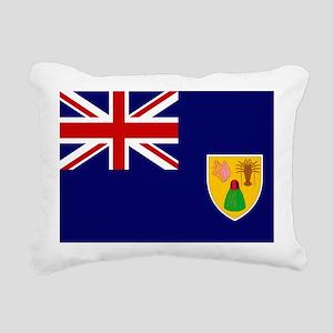Turks And Caicos Islands Rectangular Canvas Pillow