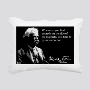 89MarkTwain Rectangular Canvas Pillow