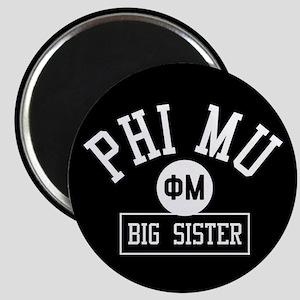Phi Mu Big Sister Magnet