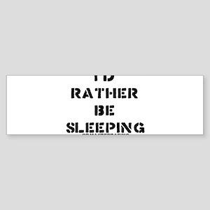 ..or masterbating Bumper Sticker