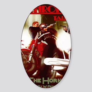 The Horn Cover Sticker (Oval)