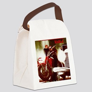The Horn Cover Canvas Lunch Bag
