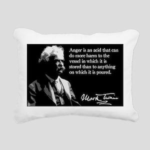 143MarkTwain Rectangular Canvas Pillow